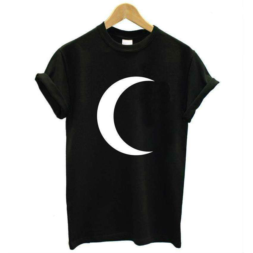 Crescent Moon Tshirt -  Free People - Bohochic - Music Festival
