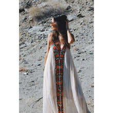 Embroidered Womens Maxi -  Free People - Bohochic - Music Festival