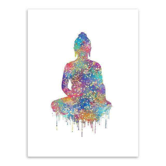 Watercolor Rainbow Art Prints,zen den,Mindful Bohemian,Mindful Bohemian