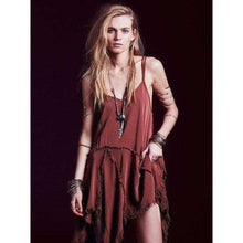 Bold Boho Rebel Dress -  Free People - Bohochic - Music Festival