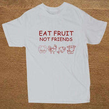 Eat Fruit, Not Friends Mens Tee -  Free People - Bohochic - Music Festival