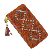 Faux Leather Designer Clutch -  Free People - Bohochic - Music Festival