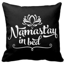 Namaste Zippered Throw Pillowcase,,Mindful Bohemian,Mindful Bohemian