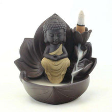 Zen Lotus Backflow Incense Burner,buddha,Mindful Bohemian,Mindful Bohemian