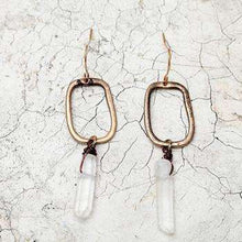 Wild & Free Crystal Earrings,earrings,Mindful Bohemian,Mindful Bohemian