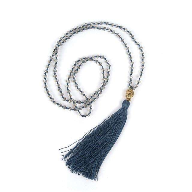 Handmade Tassle Necklace -  Free People - Bohochic - Music Festival