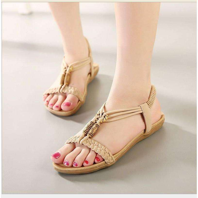 Casual Slingback Strap Sandals -  Free People - Bohochic - Music Festival