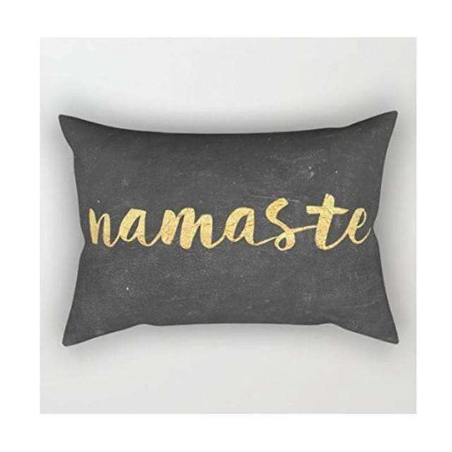 Namaste Rectangle Pillow Cover - Mindful Bohemian