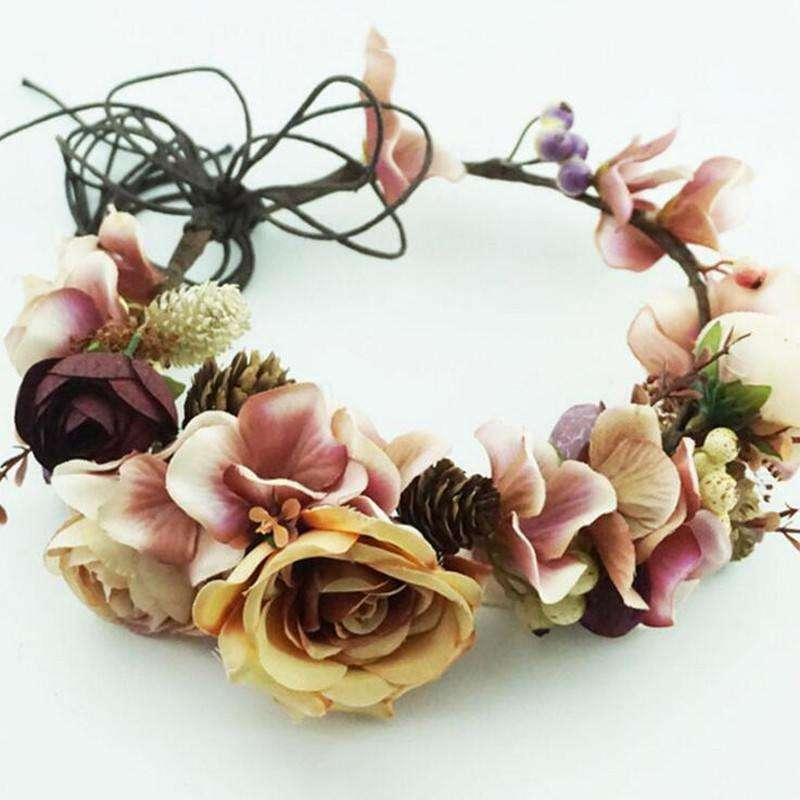 Floral Crown -  Free People - Bohochic - Music Festival