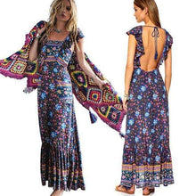 Bohemian Floral Dress -  Free People - Bohochic - Music Festival