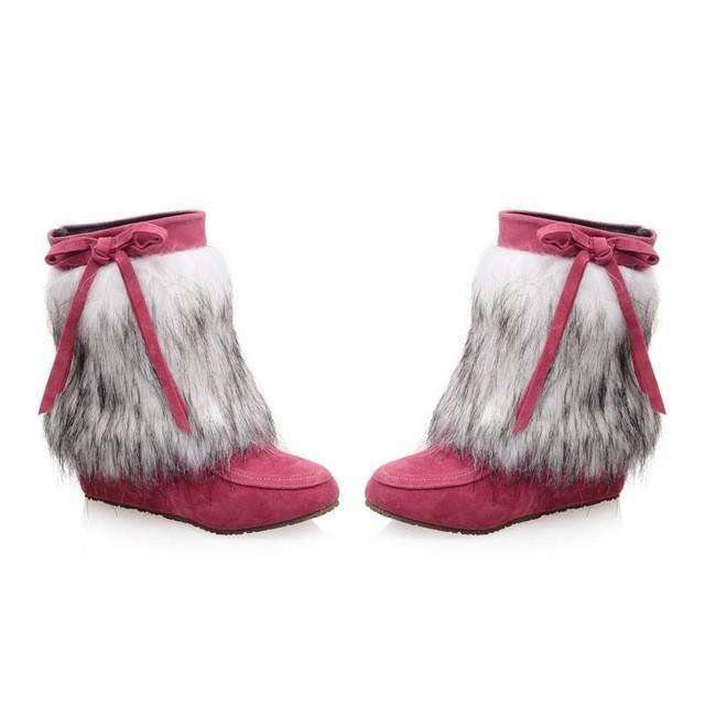 Faux Fur Boots -  Free People - Bohochic - Music Festival