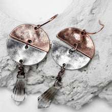 Half Moon Crystal Earrings -  Free People - Bohochic - Music Festival