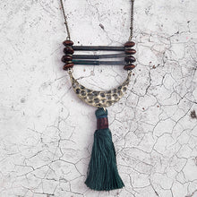 Beaded Tassel Chain  Necklace
