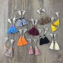 Taurus Tassel Earrings,ring,[product_vender],Mindful Bohemian