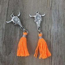 Taurus Tassel Earrings,ring,Mindful Bohemian,Mindful Bohemian