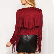 Vegan Faux Suede Fringe Jacket,ring,[product_vender],Mindful Bohemian