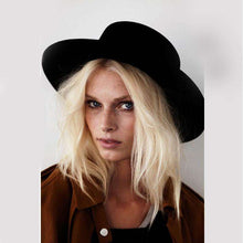 Classic Ladies Boater Hat -  Free People - Bohochic - Music Festival
