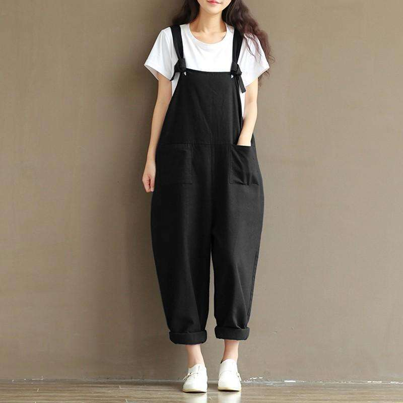 Comfy Cotton Overalls -  Free People - Bohochic - Music Festival