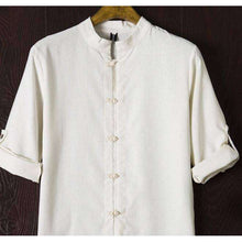 Mens Ancient Linen Shirt - Mindful Bohemian