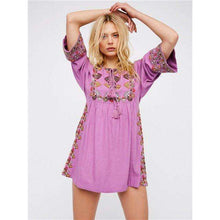Embroidered Mini -  Free People - Bohochic - Music Festival