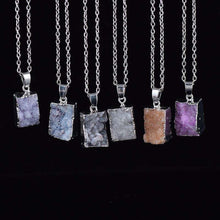 Silver Druzy Square,jewels,[product_vender],Mindful Bohemian