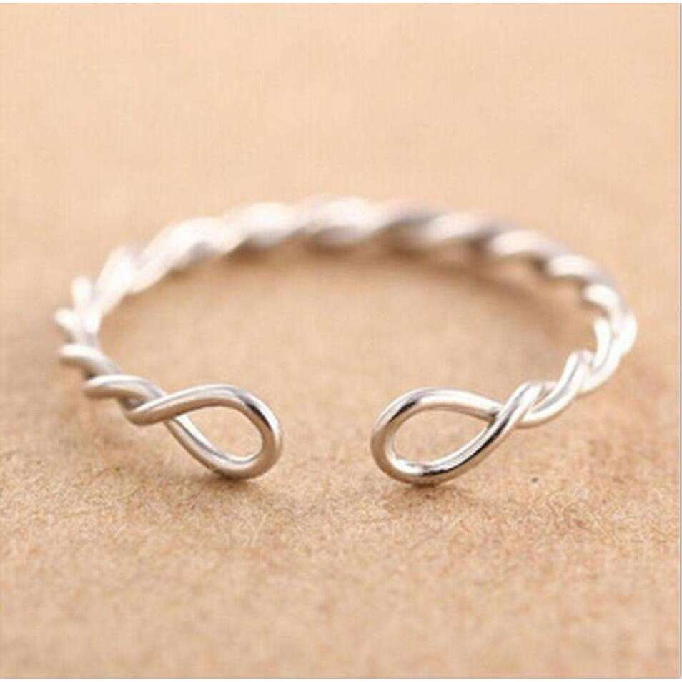 Open Silver Ring,ring,[product_vender],Mindful Bohemian