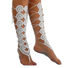 Yogi Crochet Shin Gaurd,sandals,[product_vender],Mindful Bohemian