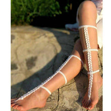 Crochet Gladiator Sandals -  Free People - Bohochic - Music Festival