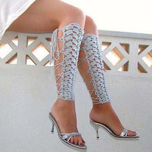 Crochet Leg Warmers -  Free People - Bohochic - Music Festival