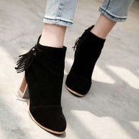 Fringe Ankle Boots -  Free People - Bohochic - Music Festival