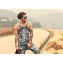 Mens Tantric Elephant Tank,mens,[product_vender],Mindful Bohemian