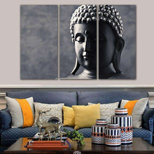 Canvas Buddha 3 Pc -  Free People - Bohochic - Music Festival
