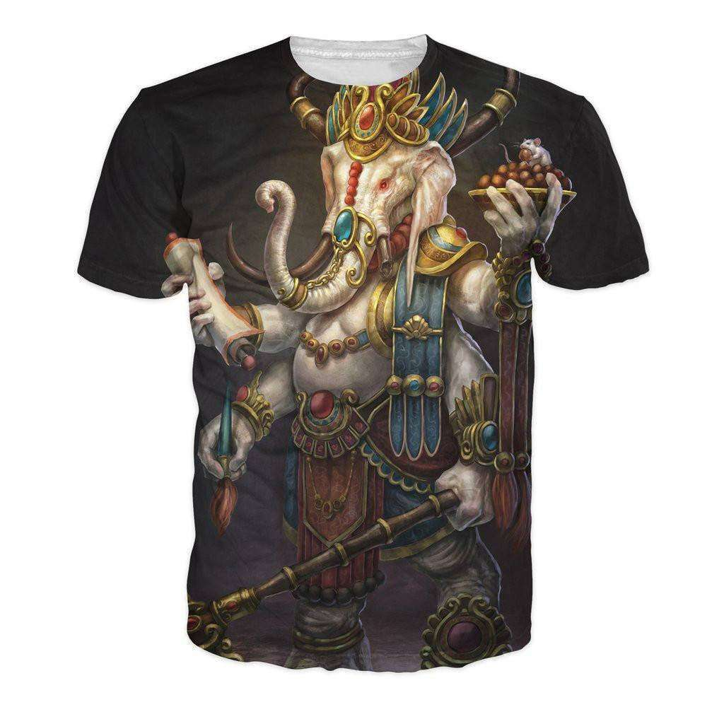 Ganesh T-Shirt -  Free People - Bohochic - Music Festival