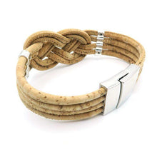 Natural Cork Braided Bracelet,cork,[product_vender],Mindful Bohemian