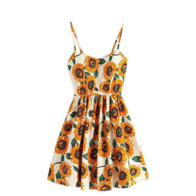 Sunflower Dress,dress,Mindful Bohemian,Mindful Bohemian