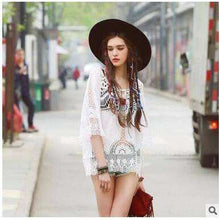 Bohemian Blouse -  Free People - Bohochic - Music Festival