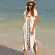 Embroidered Baja Dress -  Free People - Bohochic - Music Festival