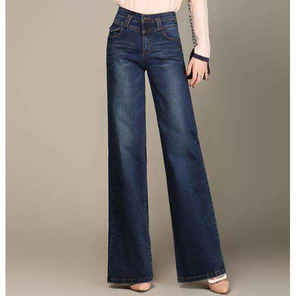 High Waist Hippie Jeans -  Free People - Bohochic - Music Festival