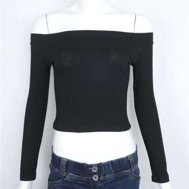 Strapless Long Sleeve Crop Top,top,Mindful Bohemian,Mindful Bohemian