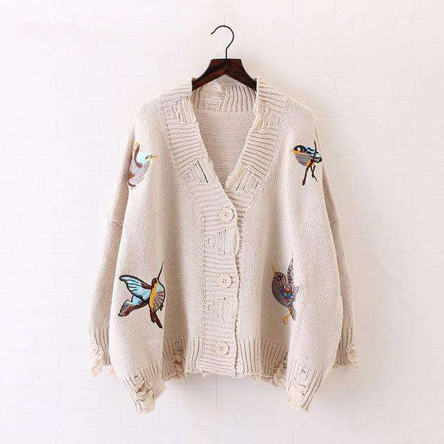 For the Birds Cardigan -  Free People - Bohochic - Music Festival
