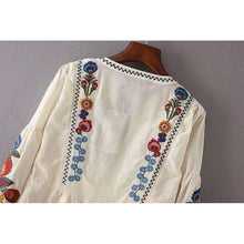 Embroidered Blouse -  Free People - Bohochic - Music Festival