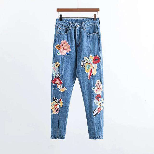1967 Flowerchild Capris -  Free People - Bohochic - Music Festival
