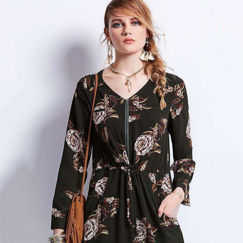 Field of Roses Maxi -  Free People - Bohochic - Music Festival
