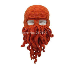 Men's Octopus Beard Beaniebeanies