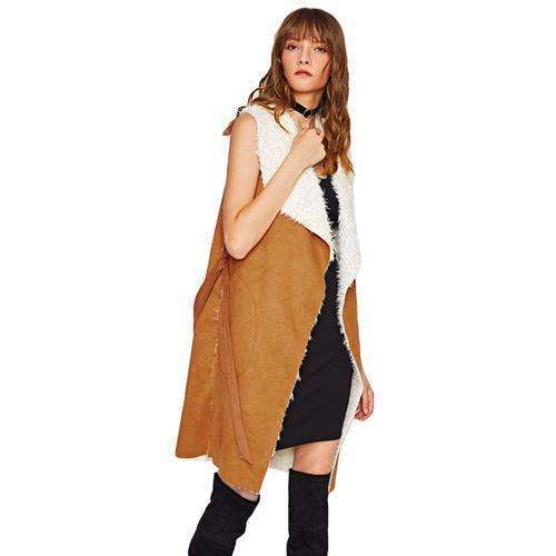 Faux Suede Coat Vest -  Free People - Bohochic - Music Festival