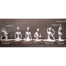 The Modern Yoga Lady,figurine,[product_vender],Mindful Bohemian