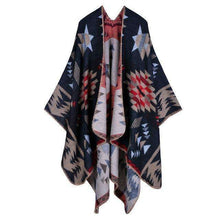 Native Poncho,winter,Mindful Bohemian,Mindful Bohemian