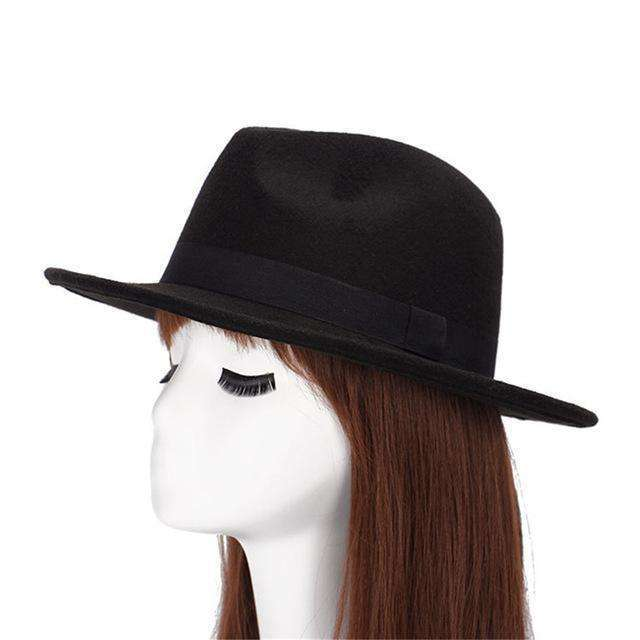 Classic Homburg Ladies Hat -  Free People - Bohochic - Music Festival