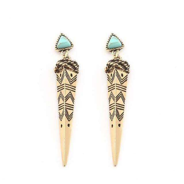 Burning Man Earrings -  Free People - Bohochic - Music Festival