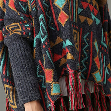 Knitted Ethnic Pullover